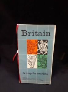 Britain A map for tourists