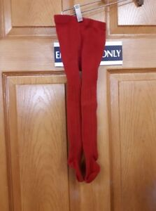 Red Tights Size: 18M