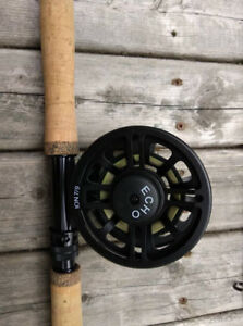 6 weight switch rod, sealed drag reel, and 30lb backing