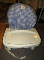 First Year toddler booster seat