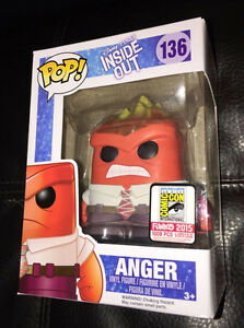 "ANGER: SDCC 2015 "" EXCLUSIVE "" Funko POP! MINT"
