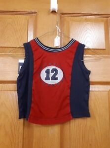 Red and Blue 12 Kloz for Kids Shirt Size: 3