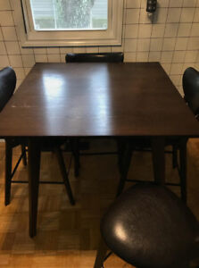 Brand new table and chairs ,,never used