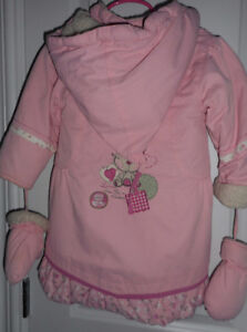 "Girl""s winter coat size 24M"