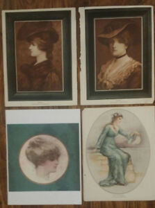 """4 Magazine """"VICTORIAN LADIES"""" 8.5"""" x 11"""" pages from old magazin"""