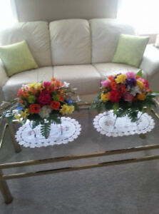 Headstone Floral Arrangements