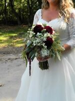 WEDDING FLOWERS,BOUQUETS,BOUTONNIERES PACKAGES,FLOWERL GIRL