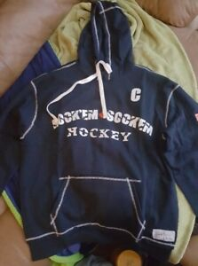Auth. Licensed Don Cherry's RockemSockem Hooded Sweatshirts NEW!