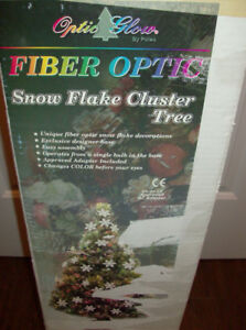 "Fiber Optic Christmas 48"", Decorations & Japanese Plate"