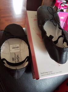 Black Ballet Shoes size 1 , worn once