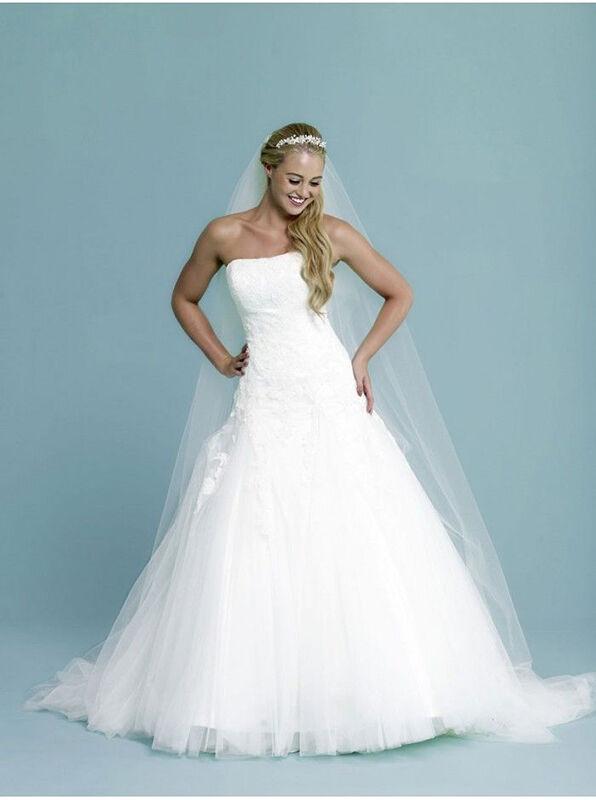 Amanda Wyatt Corset A-Line Gown