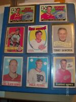 (8)  O-PEE-CHEE  SUPERSTAR CARDS FROM 1969-1972 !!!!!!!!