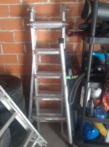 22 foot adjustable ladder