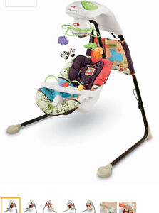 Fisher Price Cradle N' Swing, Luv U Zoo West Island Greater Montréal image 1