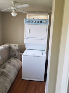 Washer and dryer combination