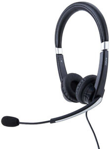 Jabra 5599-823-109 Uc Voice 550 Duo Ms Headset W/Mic Usb