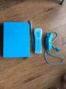 Limited Edition Blue Wii and Games