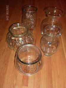 5 Funky Glass Vases for flowers, fish, plant terrariums, turtles Stratford Kitchener Area image 3