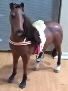 "Battat Brown Bay Quarter Horse 20"" American Doll Our Generation"