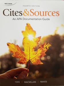 Cites & Sources 4th edition