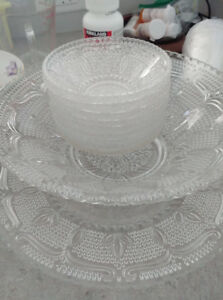 Assorted crystal and dishes - some ANTIQUE