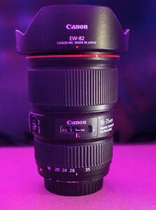 Canon 16-35mm f4L IS