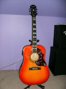 EPIPHONE HUMMINGBIRD-PRO acoustic/electric guitar