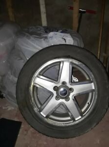Winter Tires with Rims - SUV - Jeep