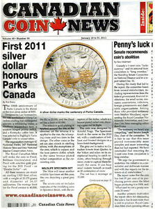 CANADIAN COIN MAGAZINES/2010-2011-2015 ISSUES/ENTIRE COLLECTIO