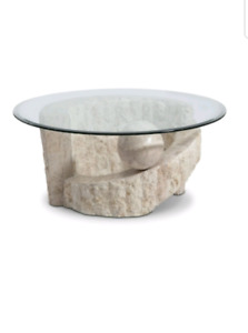 High end marble coffee table
