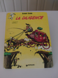 Lucky Luke - LA DILIGENCE, édition 1968