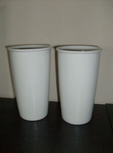 2 New Tall Coffee Mugs or Tea Mugs + Japanese Tea Pot