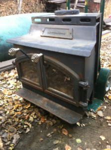 SOLID IRON WOODSTOVE