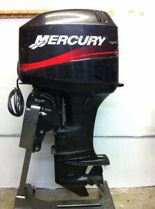 2004 Mercury 40 Hp 2 Stroke Rebuilt Outboard Motor Boat