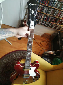 Epiphone Riviera Semi-Hollow Electric Guitar