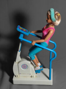 Gym Doll with Sound Effect and Biking Movement