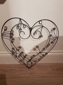 Love heart hanging frame