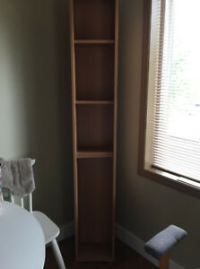 Sturdy tall shelf unit