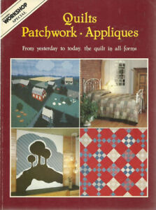1980 - Vintage - QUILTS - PatchworkMagazinePick-up in Newmarke
