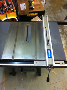 NEW DELTA PRO TABLE SAW