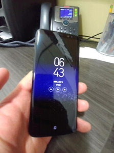 Unlocked 100%,Original Samsung Galaxy S8,64GB;Comme neuf