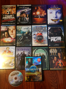 DVD' s Assorted - 16 pieces - 10 BUCKS! or make me a  offer!