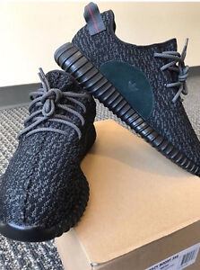 New Authentic Adidas Yeezy Boost 350 V1 Pirate Black Size 11.5