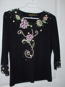 5 NEW Beautiful Ladies Tops etc. - Sizes Small and Medium