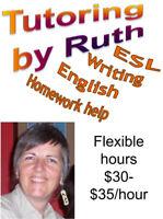 Tutor: ESL, IELTS, TOEFL, Writing, English, -- Nanaimo