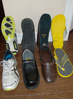 Men's Size 10 NEW Sandals, Asics Running Shoes, Steel Toe Shoes