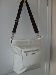 Fab Deal !! - NEW Roots White Purse + NEW Anti-Theft  Purse