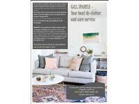 Sparkle-your local de-clutter & care service