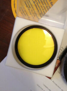 72mm Schneider B+W Yellow 022 Filter, mint