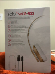 Brand New Beats Solo 3. Rose Gold Color. Came with MacBook Pro